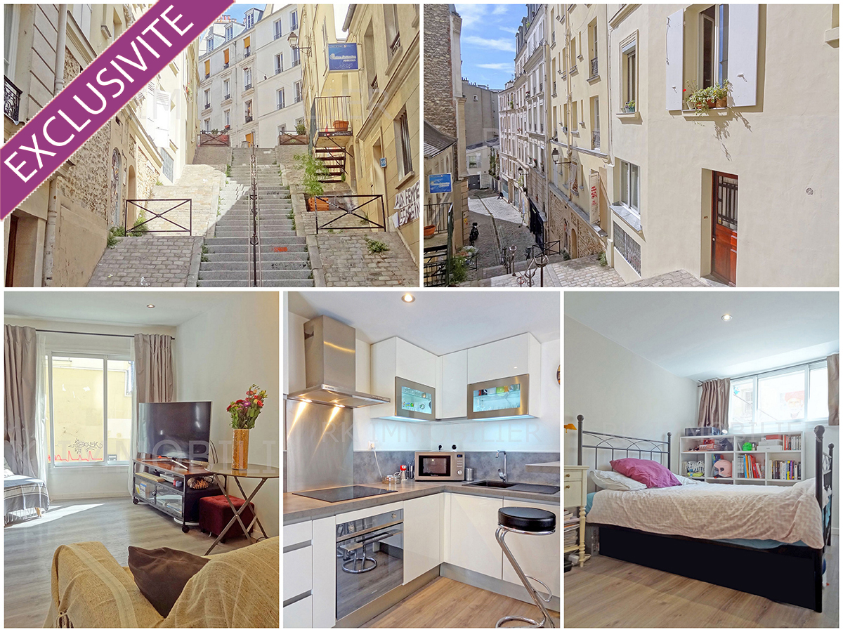 Appartement sur Paris 18