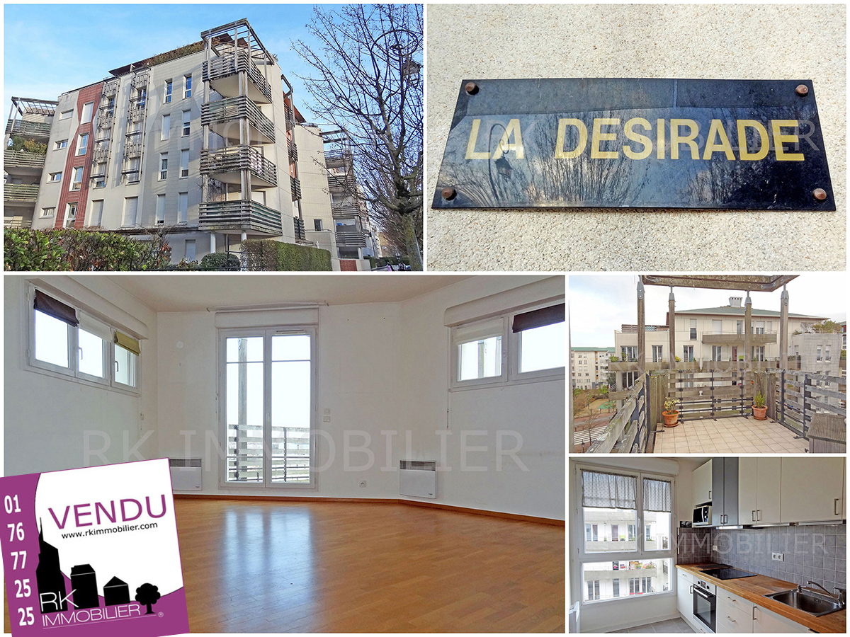 vendu site exclusivit rk immobilier  appartement f3 saint germain en laye 78100